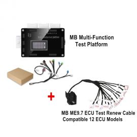 Multi-Function Test Platform For BENZ with ME9.7 ECU Test Renew Cable Compatible 12 ECU Models