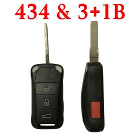 3+1 Buttons 434 MHz Remote Key for Porsche