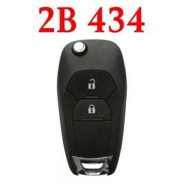 2 Buttons 434 MHz Flip Remote Key for Chevrolet / Holden - PCF7941E