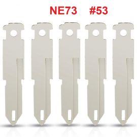 NE73 key blade for Renault/Citroen/Peugeot 206 Uncut 5pcs/lot