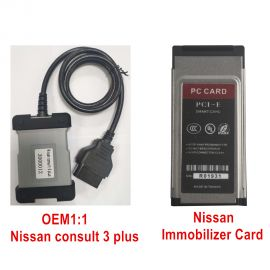 OEM1:1 Nissan consult 3 plus V201 with Immobilizer Card, Upgrade synchronously with original software