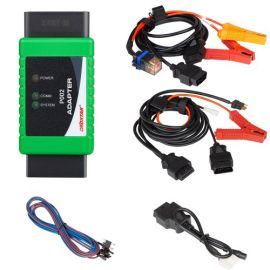 OBDSTAR P002 Adapter Full Package with TOYOTA 8A Cable + Ford All Key Lost Cable + Bosch ECU Flash Cable Used with X300 DP Plus, X300 Pro4