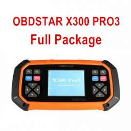 OBDSTAR X300 PRO3 Full Package Key Master with Immobiliser+Odometer Adjustment+EEPROM/PIC+OBDII+EPB+Oil/Service reset+Battery Matching