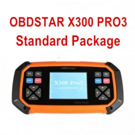 OBDSTAR X300 PRO3 Standard Package Key Master with Immobiliser + Odometer Adjustment +EEPROM/PIC+OBDII+Toyota G & H Chip All Keys Lost