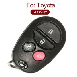 for Toyota 3+1 Remote Control (Trunk) 433MHz