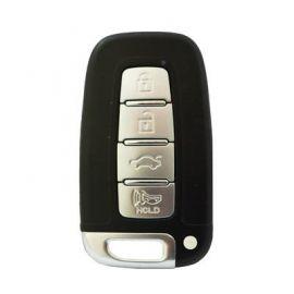 4 Buttons Smart Key Remote 433MHz with Emergency Key for Hyundai KIA