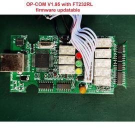 OP-COM V1.95 with FT232RL firmware updatable