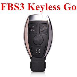 3 Buttons 433 MHz Reusable FBS3 BGA Keyless Go Smart Key for Mercedes Benz