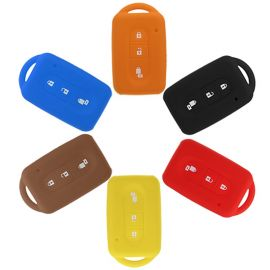 Silicone Cover for 2 Buttons Nissan Micra Car Keys - 5 Pieces