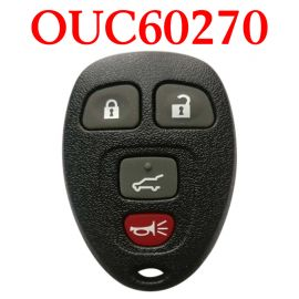 3+1 Buttons 315 MHz Remote Control for GMC Chevrolet - OUC60270