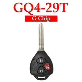 2+1 Buttons 315 MHz Remote Head Key for Toyota Matrix / Venza 2009-2014 - GQ4-29T (G Chip)