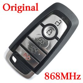 Original 5 Buttons 868 MHz Virgin Smart Proximity Key for 2008~2019 Ford Mustang - ID49