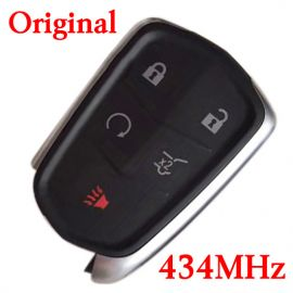 Original 5 Buttons 434 MHz Smart Proximity Key for 2015-2019 Cadillac XT5 XT4 SRX - HYQ2EB