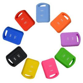 Silicone Cover for 2 Buttons Opel, Opel Vectra Car Keys - 5 Pieces