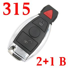 315 MHz 2+1 Buttons BE Remote Key for Mercedes Benz