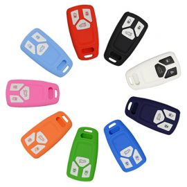 Silicone Cover for 3 Buttons Audi 2016 New Q7, 2017 A4L Car Keys - 5 Pieces