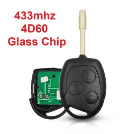 (433MHz) 3 Button Remote Key for Ford Focus (4D60 Chip)