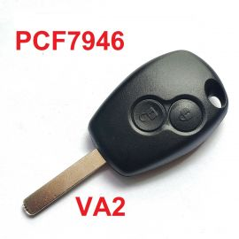 2 Buttons 433 Remote Key for Renault  - ID46