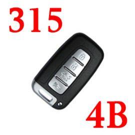 4 Buttons 315 Mhz Smart Flip Key ID46 for Hyundai Kia I30 IX35 - With Proximity Keyless Go