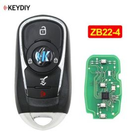 Universal ZB22-4 KD Smart Key Remote for KD-X2 - Pack of 5