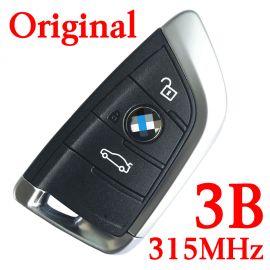 Original 315 MHz Smart Proximity Key for 2014-2018 BMW 5 X5 X6 - CAS4 CAS4+ FEM BDC Universal Key