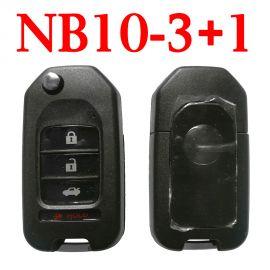 KEYDIY NB10-3+1 KD Universal Remote Control - 5 pcs