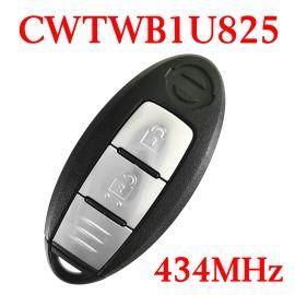 (433Mhz) CWTWB1U825 Smart Key Fob for Nissan Micra Juke Note / Renault Alaska