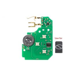 3 Buttons PCB Board for Renault Megane