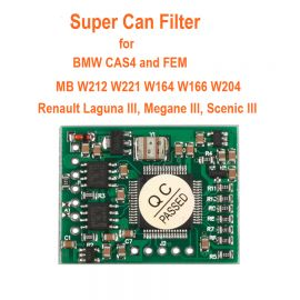 Super CAN Filter For BMW CAS4 And FEM/ MB W212 W221 W164 W166 W204/ Renault Laguna III, Megane III, Scenic III