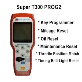 Super T300 PROG2 Auto Key Programmer Support Oil/service Reset/TPMS/EPS/BMS
