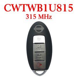 315 MHz 3+1 Buttons Smart Proximity Key for Nissan Sentra Sunny Versa 2013-2016 - CWTWB1U815