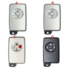 Replacement Smart key shell for Toyota With Uncut Blade 5pcs/lot