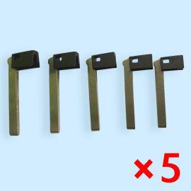 Smart Emergency Key Blade for BMW i80 - Pack of 5