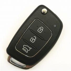 3 Buttons 434 Mhz Flip Remote Key for Hyundai New Santa Fe - 4D70 / 4D60