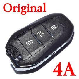 Original 3 Buttons 434 MHz Smart Key for Citroen - 4A Chip