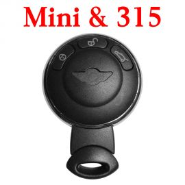 3 Buttons 315 Mhz Remote Key for Mini Cooper