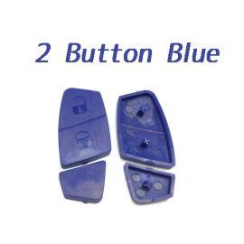 2 Button Rubber Pad Blue Color for Fiat 10 pcs