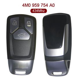 3 Buttons 434 MHz Remote Key for Audi Q7 - 4M0 959 754 A0