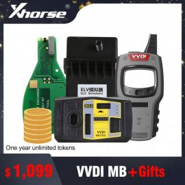 (Ship From Europe/UK/Russia/USA) Original Xhorse VVDI MB BGA TooL Benz Key Programmer with 1 year token + gift
