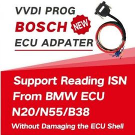 VVDI Prog Bosch ECU Adapter Support Reading ISN from BMW ECU N20 N55 N38