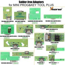 (5% Off) Xhorse VVDI Adapters & Cables Solder-free Full Set for Xhorse MINI PROG and KEY TOOL PLUS