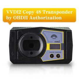 VVDI2 Copy 48 Transponder by OBDII Function Authorization Service
