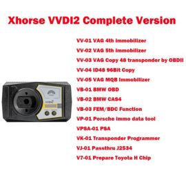 (ship from Europe) Original Xhorse VVDI2 Commander Key Programmer Full Version for VW/Audi/BMW/Porsche/PSA all functions activated