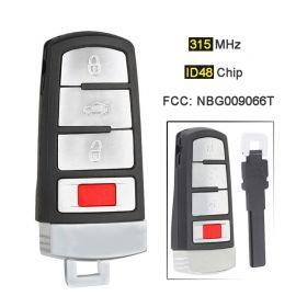Remote Key for VW Magontan 3+1 Button 315 MHz