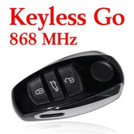3 Buttons 868 MHz Flip Proximity Key for VW Touareg - 7P6 959 754AP
