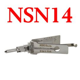 LISHI NSN14 Auto Pick and Decoder for Nissan Subaru