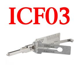 Original LISHI ICF03 Auto Pick and Decoder for Ford