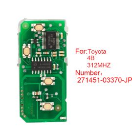 for Toyota Smart Card Board 4 Key 312MHz Number 271451-03370-JP