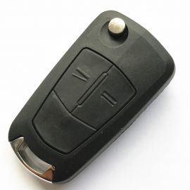 (433Mhz) 2 Buttons Flip Remote Key for Opel Corsa D Meriva - PCF7941