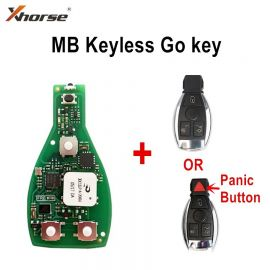 Xhorse VVDI MB Universal Benz FBS3 Keyless Smart Key with 200 Free Points Renewable 433/315MHz